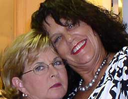 Becky and Susie, members of Club Duck Key, Florida